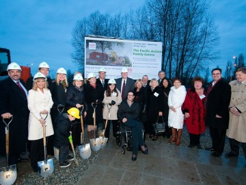 Provincial Autism Family Foundation Breaks Ground