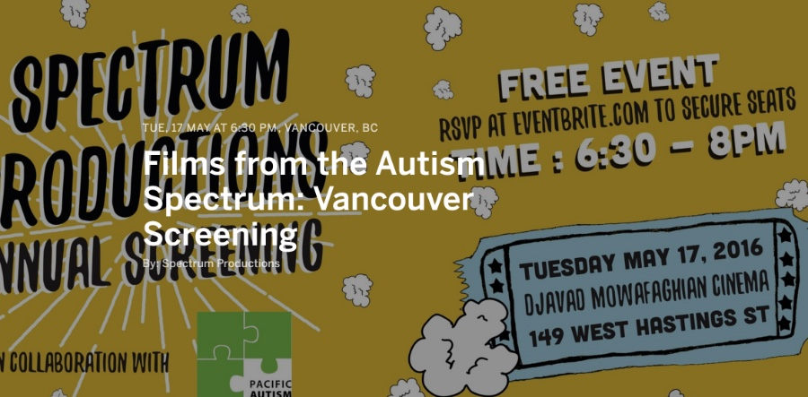 FILMS FROM THE AUTISM SPECTRUM